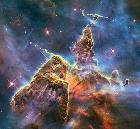 Part of the Carina Nebula