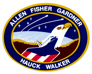 STS-51-A mission patch
