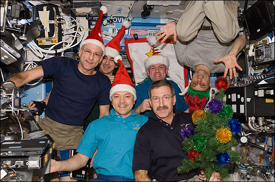 Christmas on the Space Station