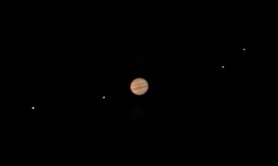 Jupiter and Jovian Moons