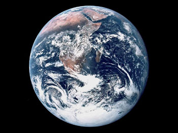 Apollo 17 View of Earth