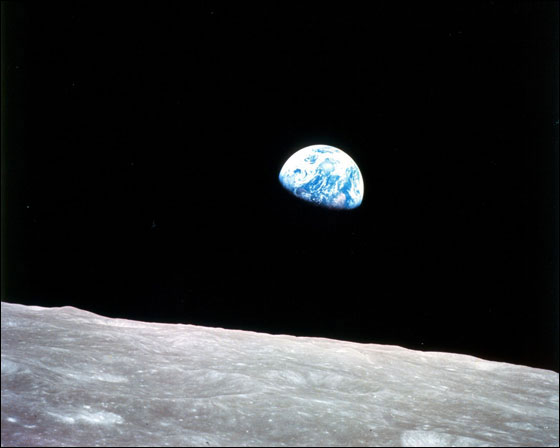 Earthrise photo