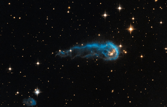 Hubble Catepillar