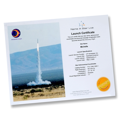 Launch Certificate