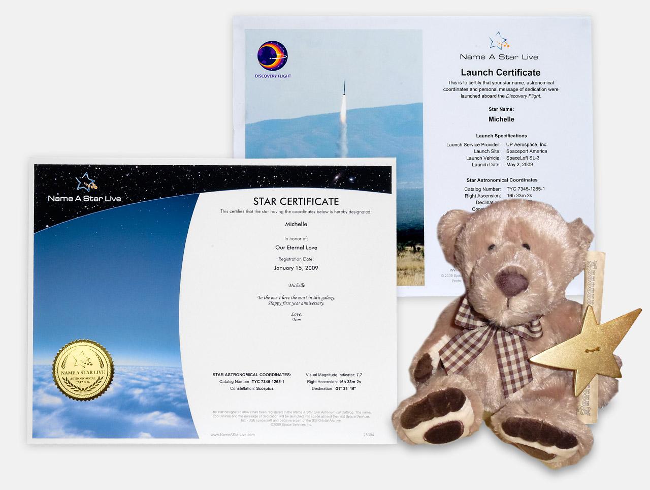 Star Bear Gift Set