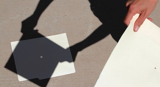 A pinhole projector