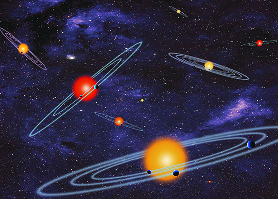 Multiple solar systems