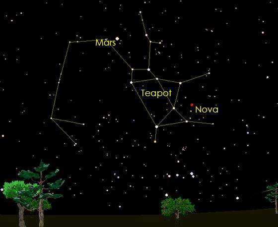 Nova in Sagittarius