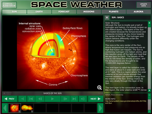 Space Weather module